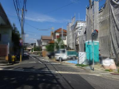 【前面道路含む現地写真】《》神戸市垂水区神陵台 2号地 新築戸建