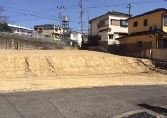 【前面道路含む現地写真】神戸市垂水区千鳥が丘3丁目 土地