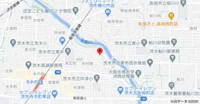 【地図】リバティハイツ