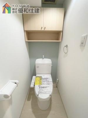 【トイレ】プレステージ西神戸