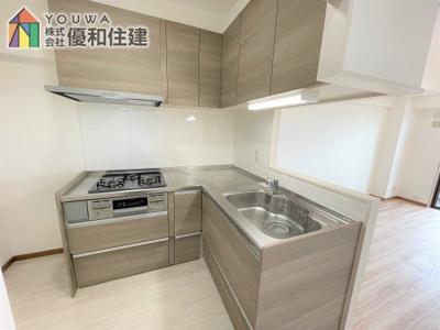 【キッチン】プレステージ西神戸
