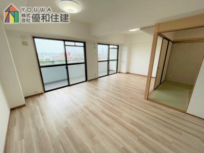 【居間・リビング】プレステージ西神戸