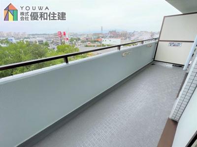 【バルコニー】オープンハウス開催中! プレステージ西神戸