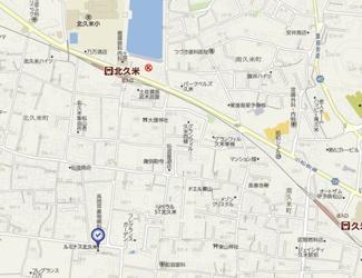【周辺】北久米476-1仙波借家・