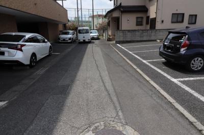 【前面道路含む現地写真】高崎市稲荷町売地