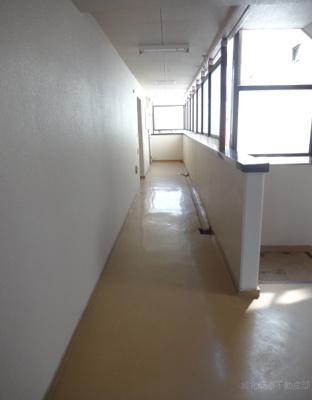 ニューエクセル藤和 共用廊下