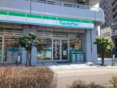 ファミリーマート高崎駅東口店まで400m