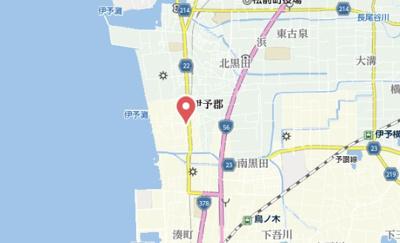 【地図】コスモ新川