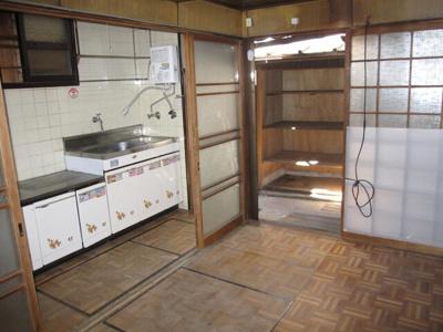【キッチン】京都市東山区東川原町