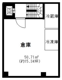 地下1階の間取りになります。