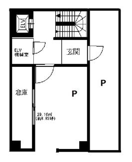 1階の間取りになります。