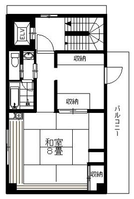 3階の間取りになります。