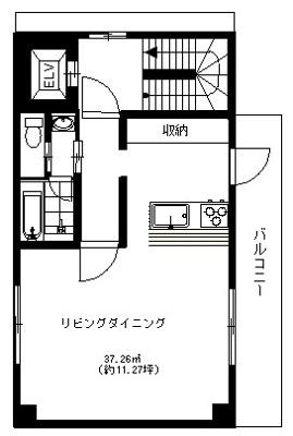 4階の間取りになります。