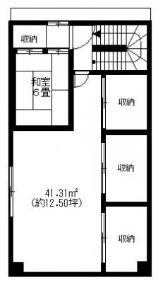 5階の間取りになります。