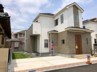 敷地有効面積が45.7坪と広いので建物配置がユッタリです。