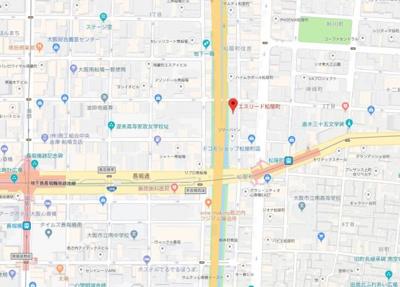 【地図】エスリード松屋町