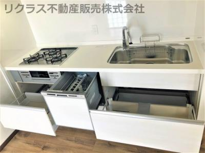 【キッチン】ライオンズマンション三宮第2
