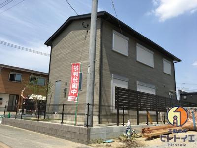 【外観】三潴町壱町原新築住宅