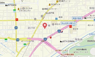 【地図】フォブール三好B