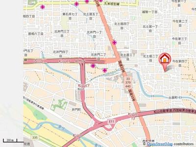 【地図】ピュア・ハーツ・