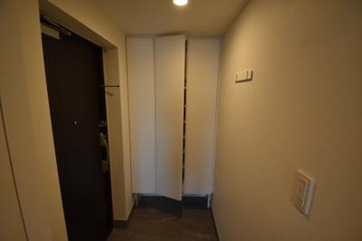 広々玄関スペースです。