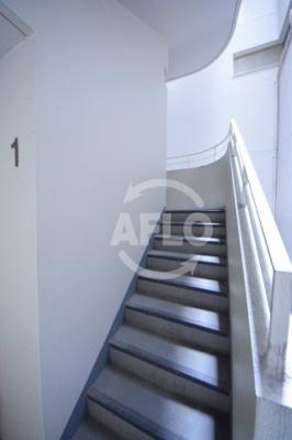 Sパレス天王寺 共用階段