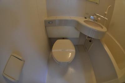 【トイレ】上本町ハイツ