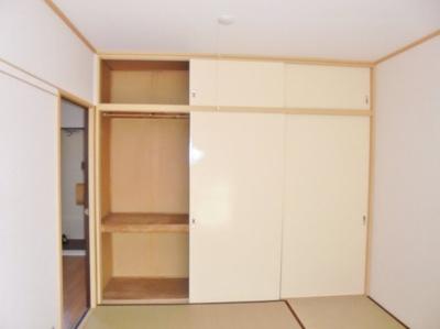 和室6帖の押入 ※写真はイメージです