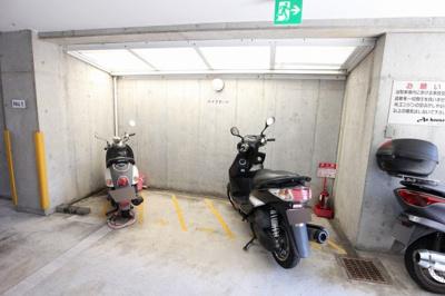 アンハウス 駐輪場
