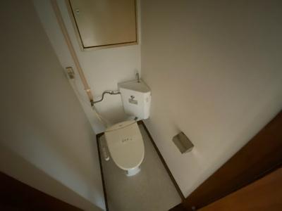 【トイレ】コーポつくし乃