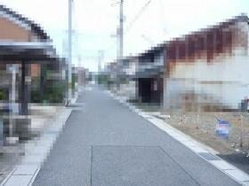 【前面道路含む現地写真】近江八幡市縄手町中 売土地