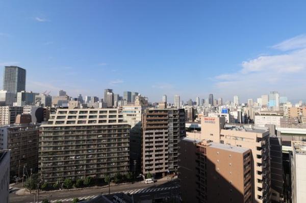 【物件からの展望】15階部につき、目の前に高い建物がなく眺望も良好です◎