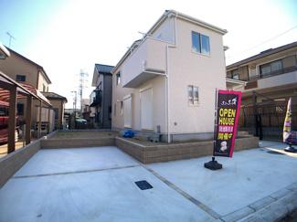 新京成線「三咲」駅徒歩10分の全1棟の新築一戸建てです。