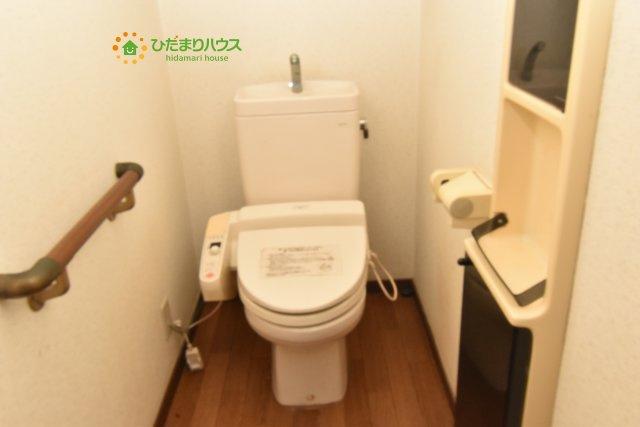 【トイレ】鴻巣市宮前 中古一戸建て