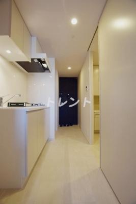 【キッチン】プライムメゾン早稲田通り
