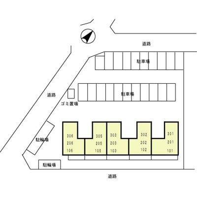 【区画図】オークコート