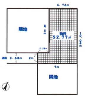 敷地52.77㎡(約15.9坪)