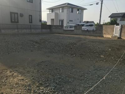 【外観】藤岡市藤岡の土地(整形地)