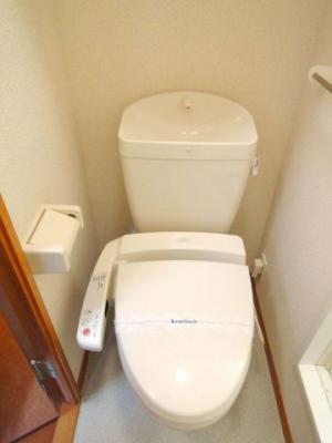 温水洗浄機付き