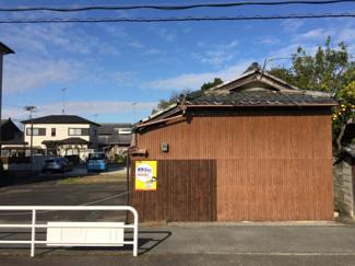 【外観】栗東市出庭【2区画】2号地 売土地