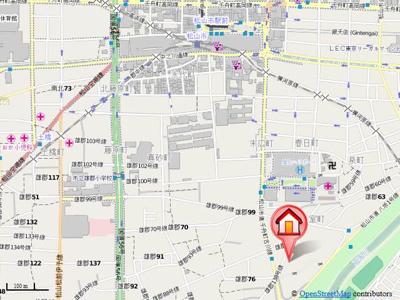 【地図】ラポール室町・