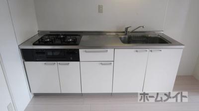 【キッチン】【分譲】シティコーポ京口
