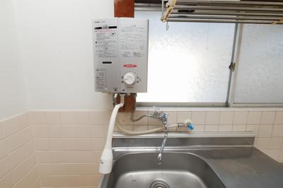 湊貸家 2号  瞬間湯沸かし器