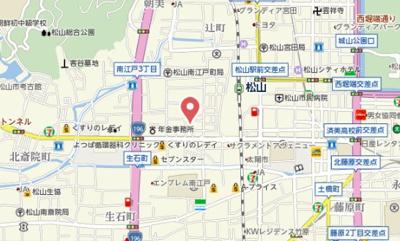 【地図】丹下ハイツ