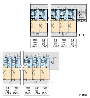 【区画図】レオパレスM.S.MⅡ