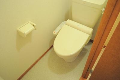 温水洗浄便座。実際のトイレは仕様が異なる場合がございます