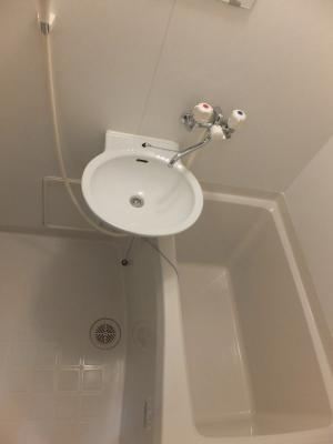 【浴室】レオパレス一水