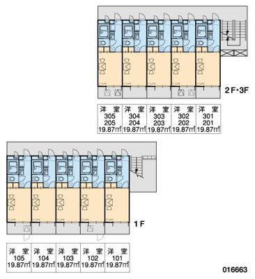 【区画図】レオパレスカーム