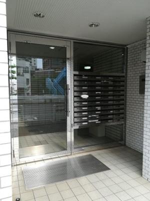 【エントランス】マートルコート中目黒