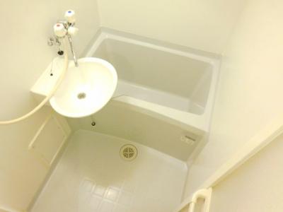 【浴室】レオパレスサントオークヴィラ